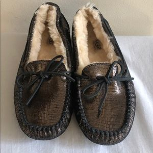 UGG Dakota Slipper Shoes, Metallic Print